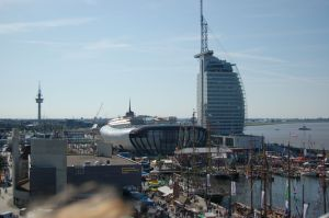Das Auswanderhaus, das Klimahaus und das Atlantic Hotel SAIL City