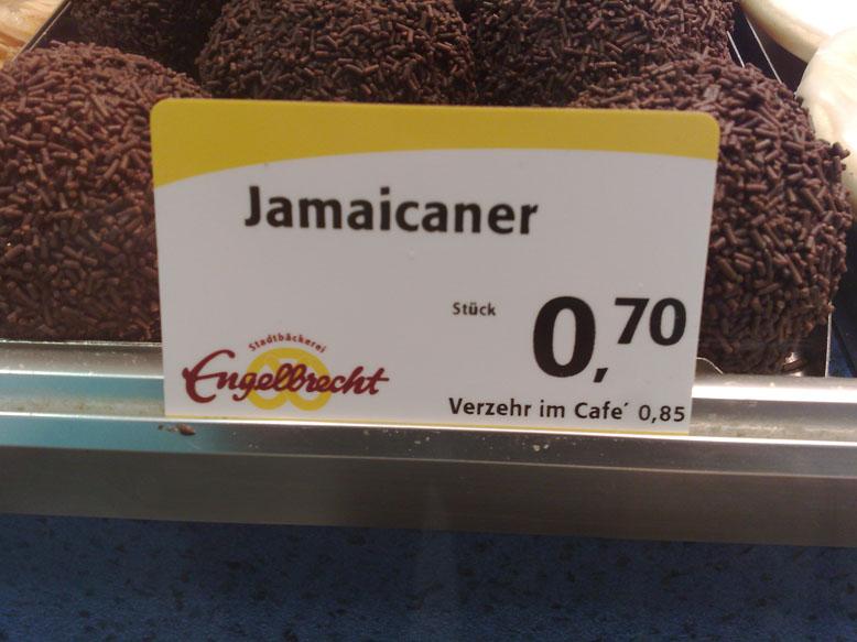 Rumkugel goes Jamaica ...und aus Raider wird jetzt Twix?