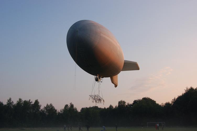 Zeppelin über Hymendorf